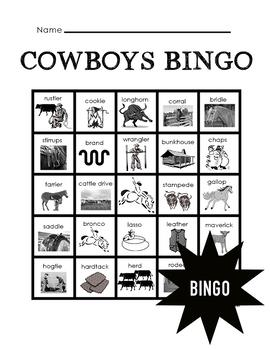 Cowboys Bingo