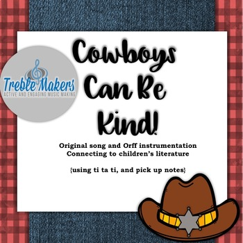 Cowboys Can Be Kind {freebie!}