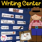 Cowboys Flashcards Theme Words Poster Vocabulary Pictionary
