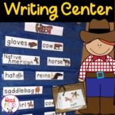 Pictionary Cards - Vocabulary, Writing Center, Write the Room