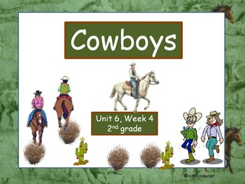 Cowboys, Interactive PowerPoint, 2nd Grade
