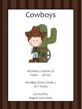 Cowboys Reading Street Grade 2 2011 & 2013 Series