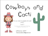 Cowboys and Cacti- High Frequency Sight Word Practice