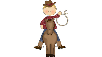 Cowboys and Chickens Fry Words 1-25
