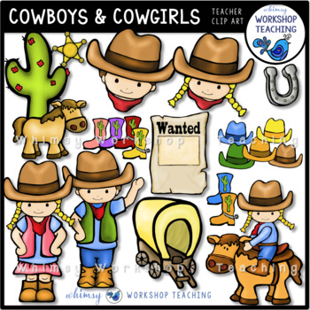 414500194c7fb Cowboys and Cowgirl Clip Art Cowboys and Cowgirl Clip Art