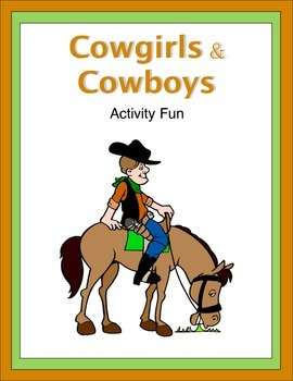 Cowboys and Cowgirls Activity Fun