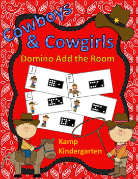 Cowboys and Cowgirls Domino Add the Room