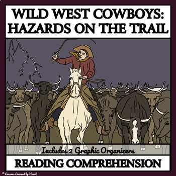 Reading Comprehension: Cowboys in the 1800s - Hazards on the Cattle Drive