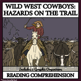 Reading Comprehension - Cowboys in the 1800s: Hazards on the Cattle Drive