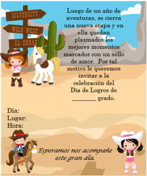 Cowboys2 Invitation Editable!!!