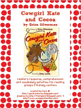 Cowgirl Kate and Cocoa Literature Study Packet