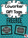 Coworker Gift Tags