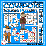 CRITICAL THINKING: H.O.T.S. Activities, Western Puzzles, Problem Solving