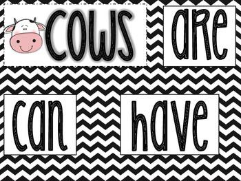 Cows: A mini-thematic Unit
