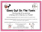 Cows Out on the Town: Sounds of ou and ow Word Word and Li