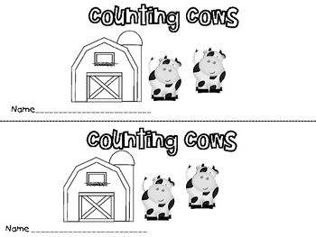 Cows in the Barn  Activity Kit for Eight