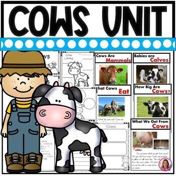 Cows on the Farm (A Nonfiction Literacy Unit about Cows)