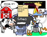 Cows Type Clipart Pack