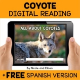 Coyote Reading Comprehension for Google Classroom