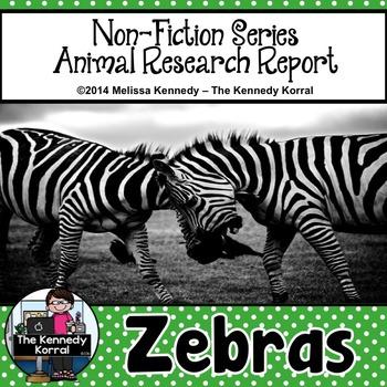 Zebras {Nonfiction Animal Research Report}