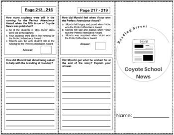 Coyote School News - 4th Grade Reading Street