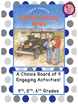 Coyote School News Activities - Choice Board