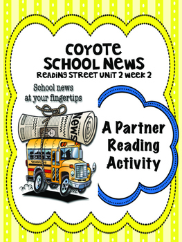 Coyote School News  Reading Street 4th Grade Partner Read centers groups