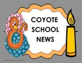Coyote School News - Tri folds + Activities