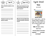 Coyote School News Trifold - ReadyGen 4th Grade Unit 4 Module A