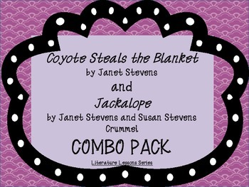Coyote Steals the Blanket and Jackalope Combo Pack: Guided Read Aloud