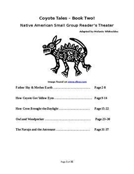 Coyote Tales Book Two- Native American Reader's Theater