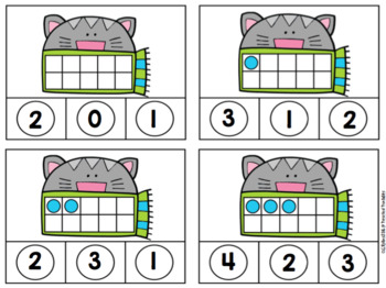 Cozy Cat Math