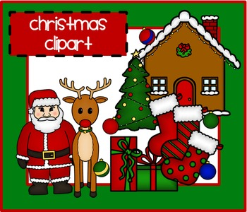 Cozy Christmas Clip Art *Patch of Sunshine*