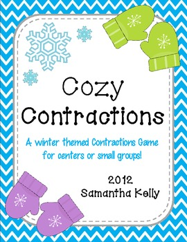 Cozy Contractions - Winter Themed