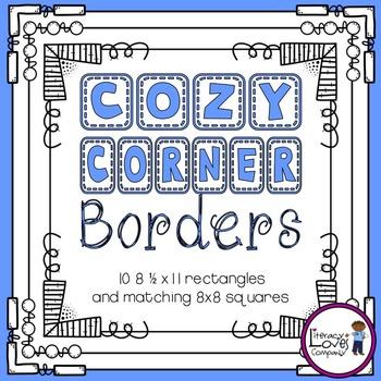 Square Borders {Cozy Corner}