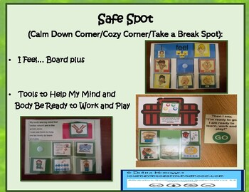 Cozy Corner or Safe Spot: Feelings Indicator and Strategy Boards