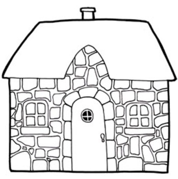 Cozy Cottages Clip Art