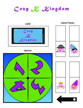 Cozy Kingdom /K/ Articulation Boardgame!