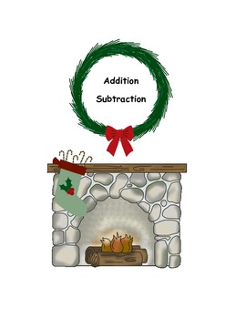 Cozy Matches ~ Winter Addition and Subtraction