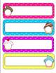 Cozy and Classy Classroom: Organization and Decor Pack {Bright Polka Dots}