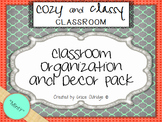 Cozy and Classy Classroom: Organization and Decor Pack {Minty}
