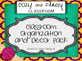 Cozy and Classy Classroom: Organization and Decor Pack {Tropical Truffula}