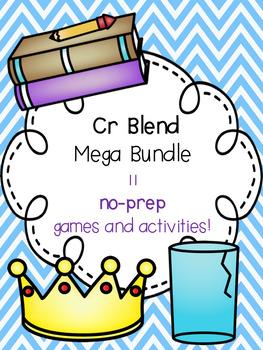 Cr Blend Mega Bundle! [11 no-prep games and activities]