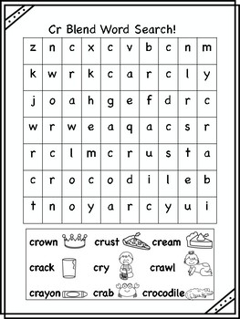 Cr Blend Word Searches!