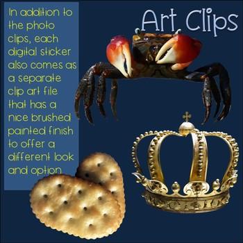Cr Blends Clip Art Phonics Word Families Digital Photo Stickers