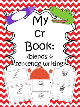 Cr Book (blends & sentence writing)