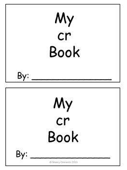 Cr Book (blends & sentence writing)