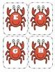 Crab Capital Alphabet Flash Cards