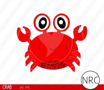 Crab Clip Art- Commercial Use Clipart