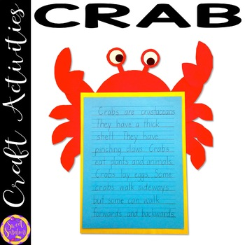 Crab Craft Activity